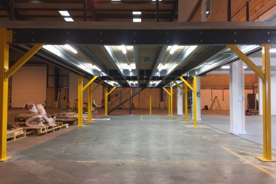 Mezzanine floor electricians in Sussex and Hampshire