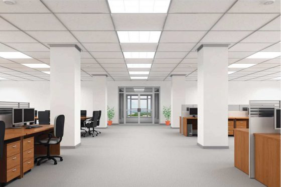 Commercial office electricians